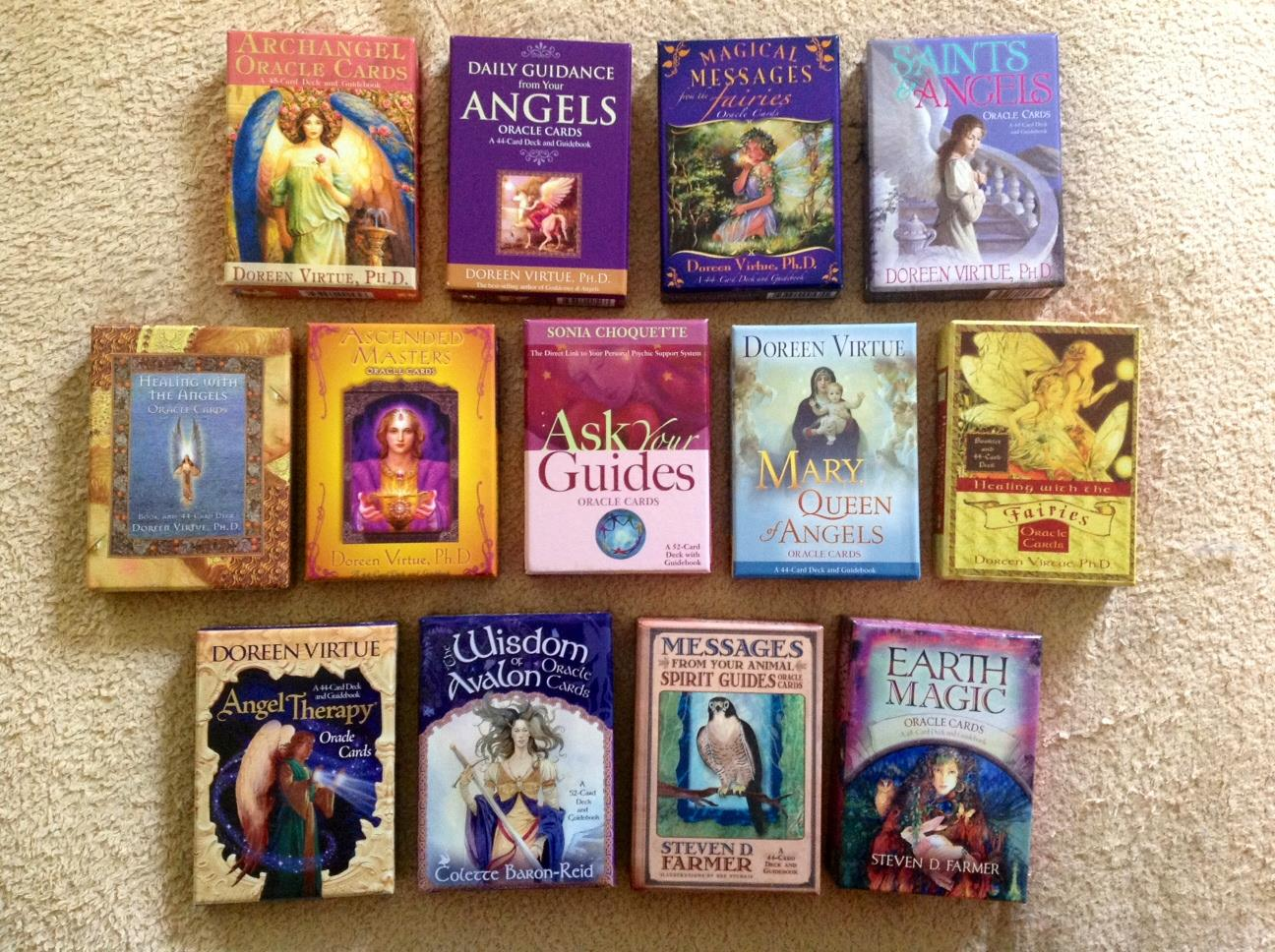 Angel and Oracle Cards